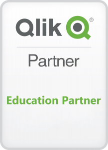 Qlik Education Partner BADGE copy 217x300 - O nás