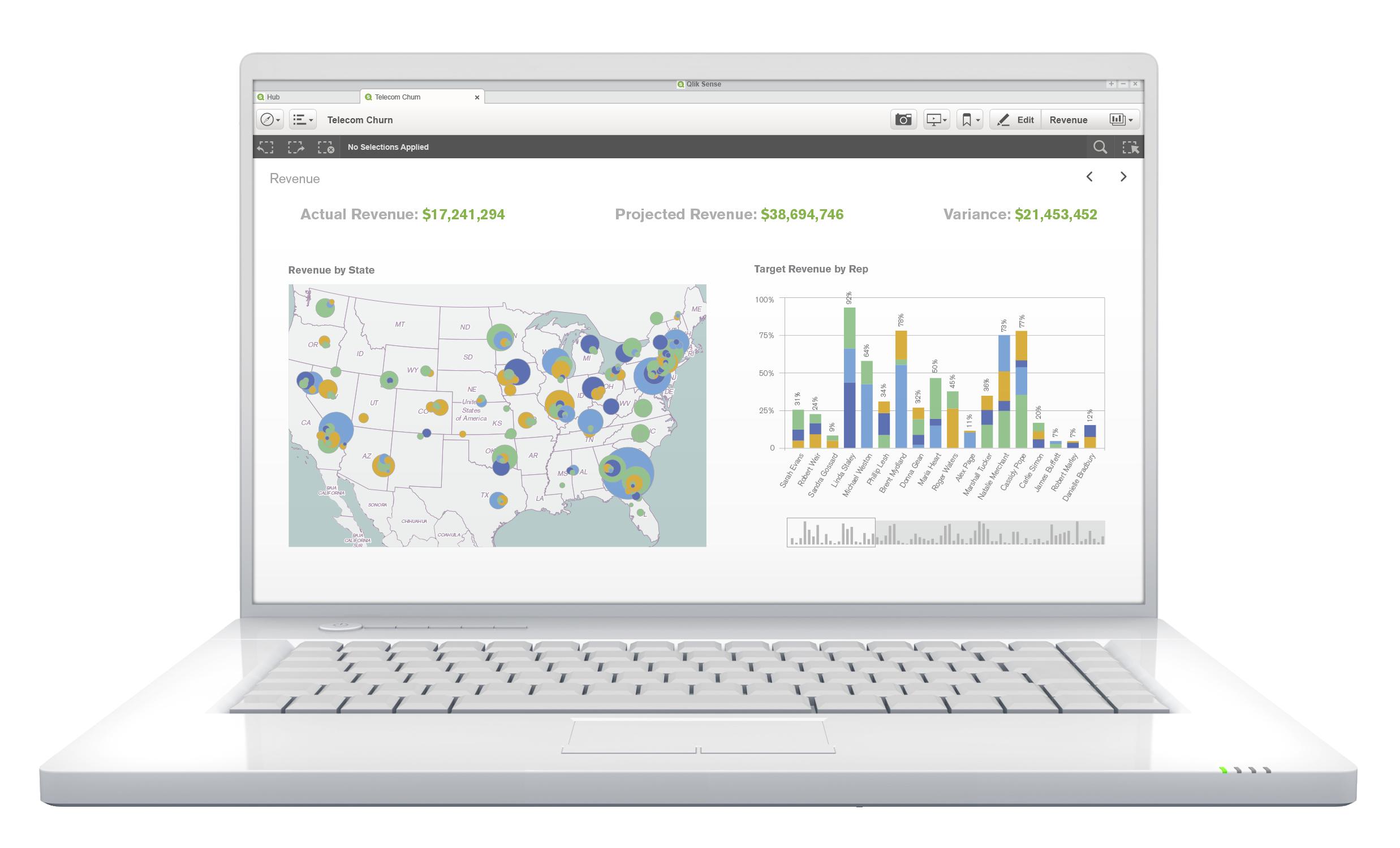 SenseGA Laptop 02 TelcomChurn 02 - GDPR: 7 oblastí ochrany dat, kde víme účinně pomoci