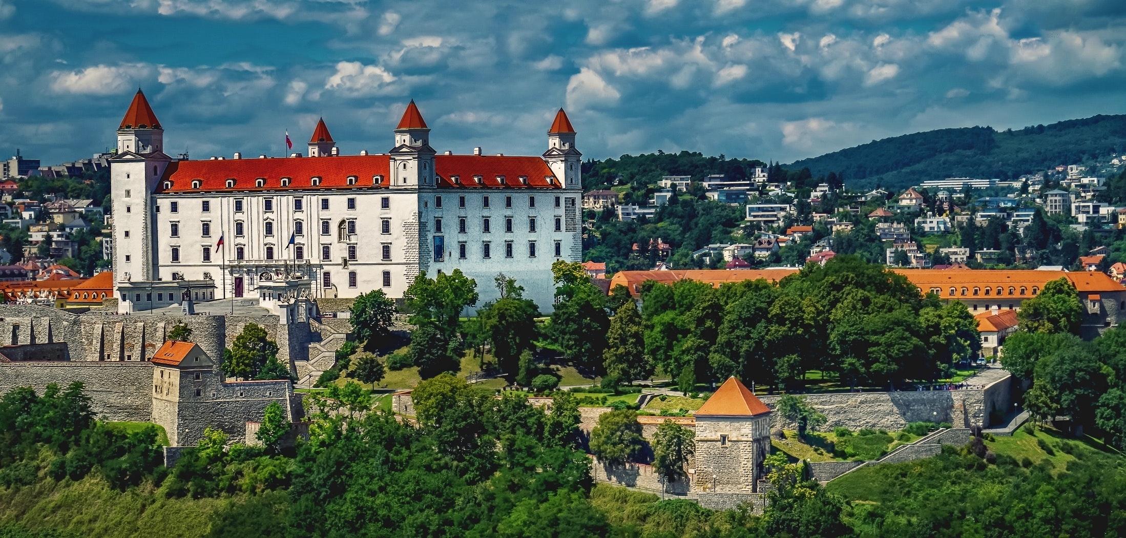 architecture bratislava bratislava castle 280173 - Contact