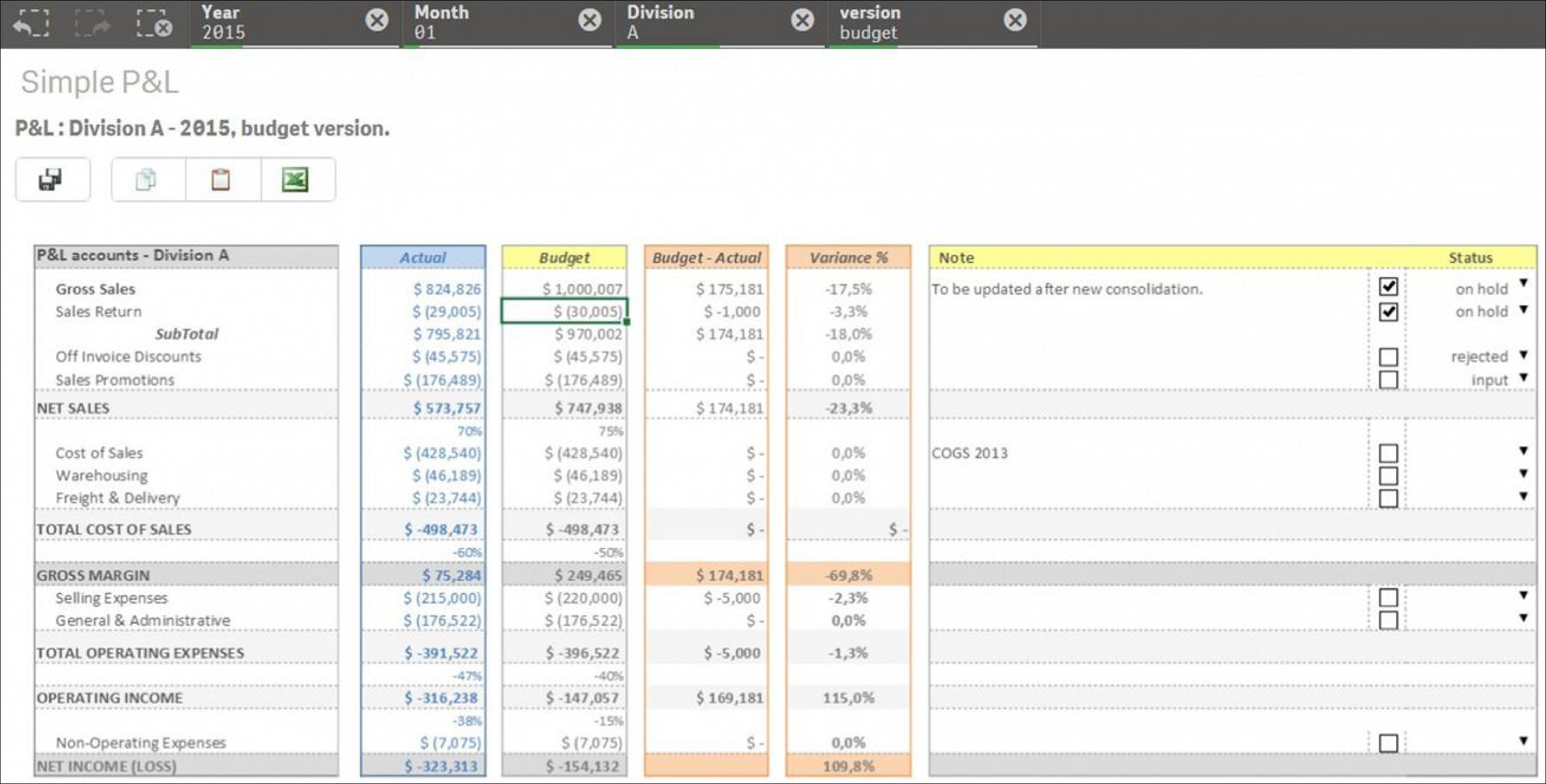 k4 Analytics screenshot - K4 Analytics