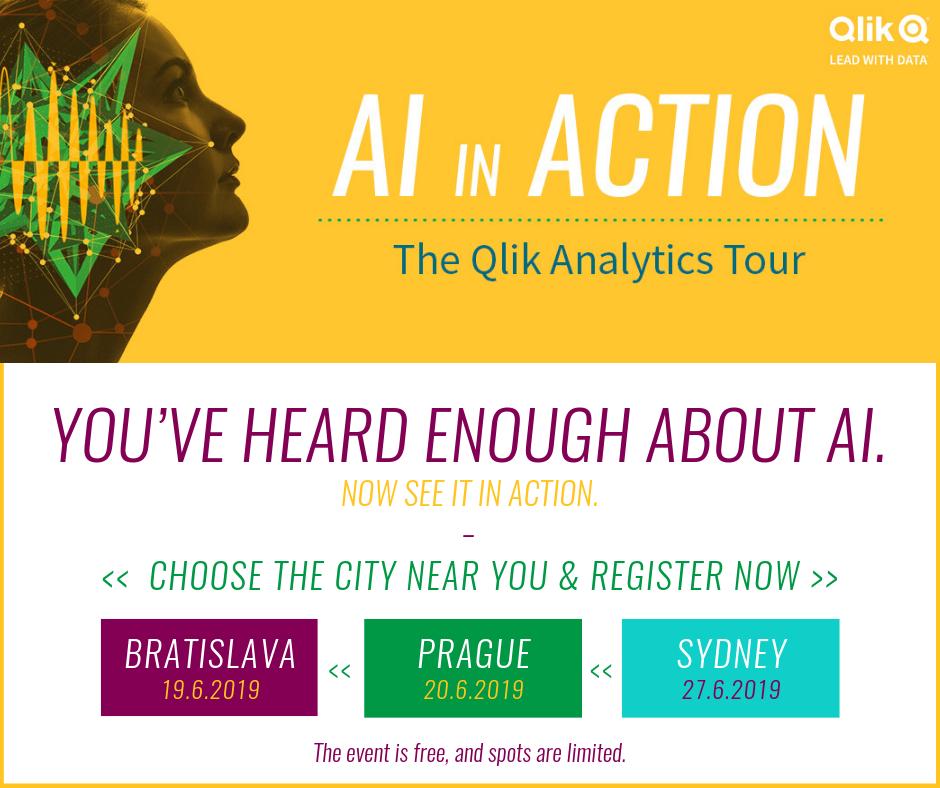 7 - Qlik Analytics Tour – Join the global roadshow near you
