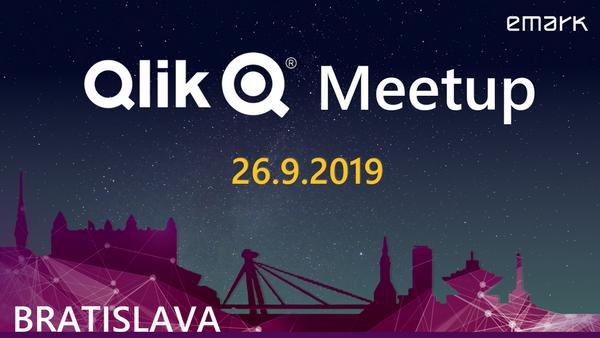 Qlik meetup 26.9. - Pridajte sa na druhý tohtoročný Qlik Meetup v Bratislave