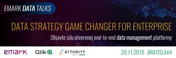 1 - EMARK DataTalks: Data strategy game changer pre enterprise