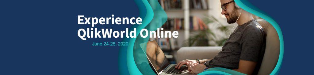 QlikWorld banner 1024x247 - World's biggest Qlik BI conference, QlikWorld goes ONLINE. Join us on June 24 & 25.
