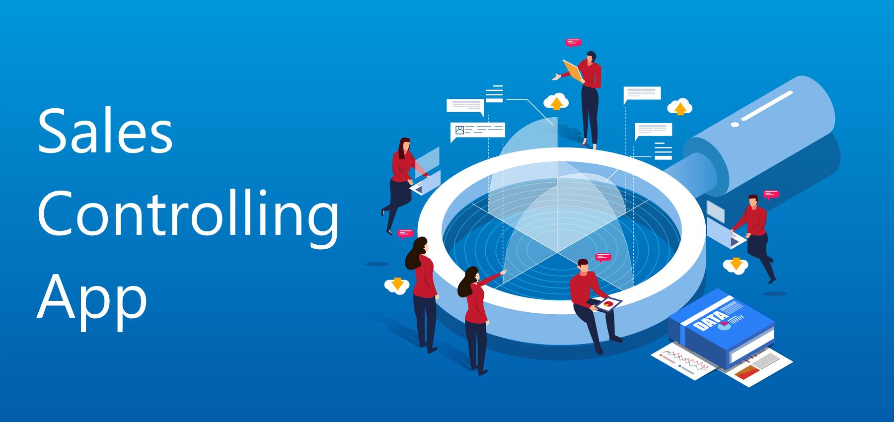 Sales Controlling App logo - EMARK Sales Controlling App