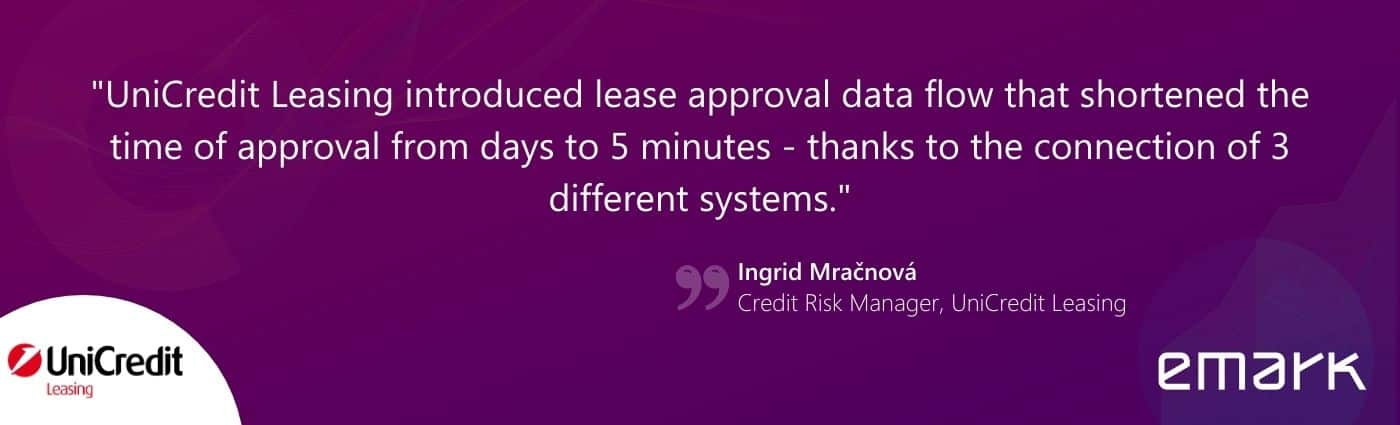 UCL testimonial CZ obrazok na web - UniCredit Leasing approves leases within minutes. Thanks to Qlik.
