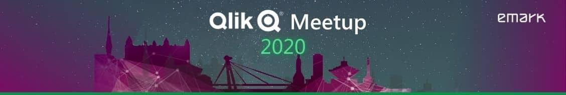 Qlik Meetup siroky banner po evente - Pozrite si zo záznamu jediný česko-slovenský Qlik Meetup v roku 2020