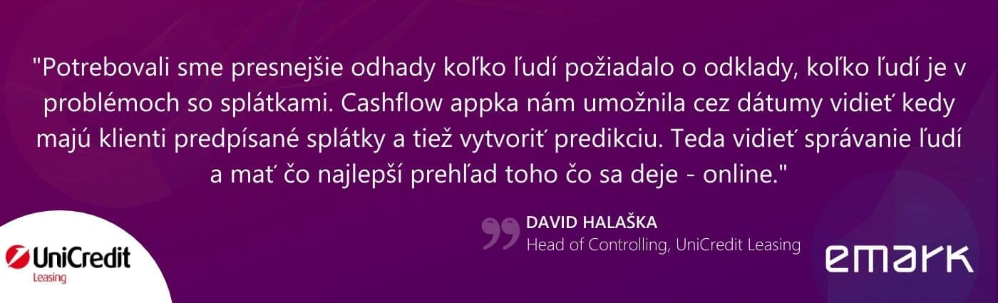 UCL testimonial cash flow uzky banner web - Cash flow analýzy: Appka, ktorá pomohla UniCredit Leasing ustrážiť financie pri jarnej vlne opatrení